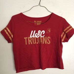 Tops - Cropped USC shirt